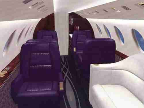 Falcon 50 Corporate Interior Design