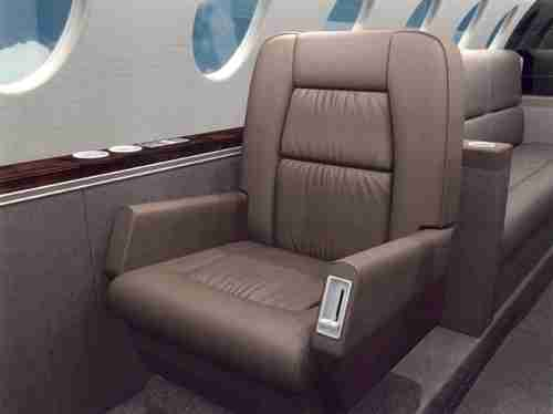 Falcon 50 Seat Rendering