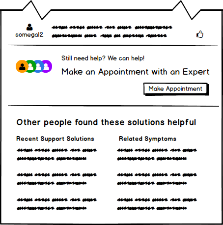 Appointment with an Expert