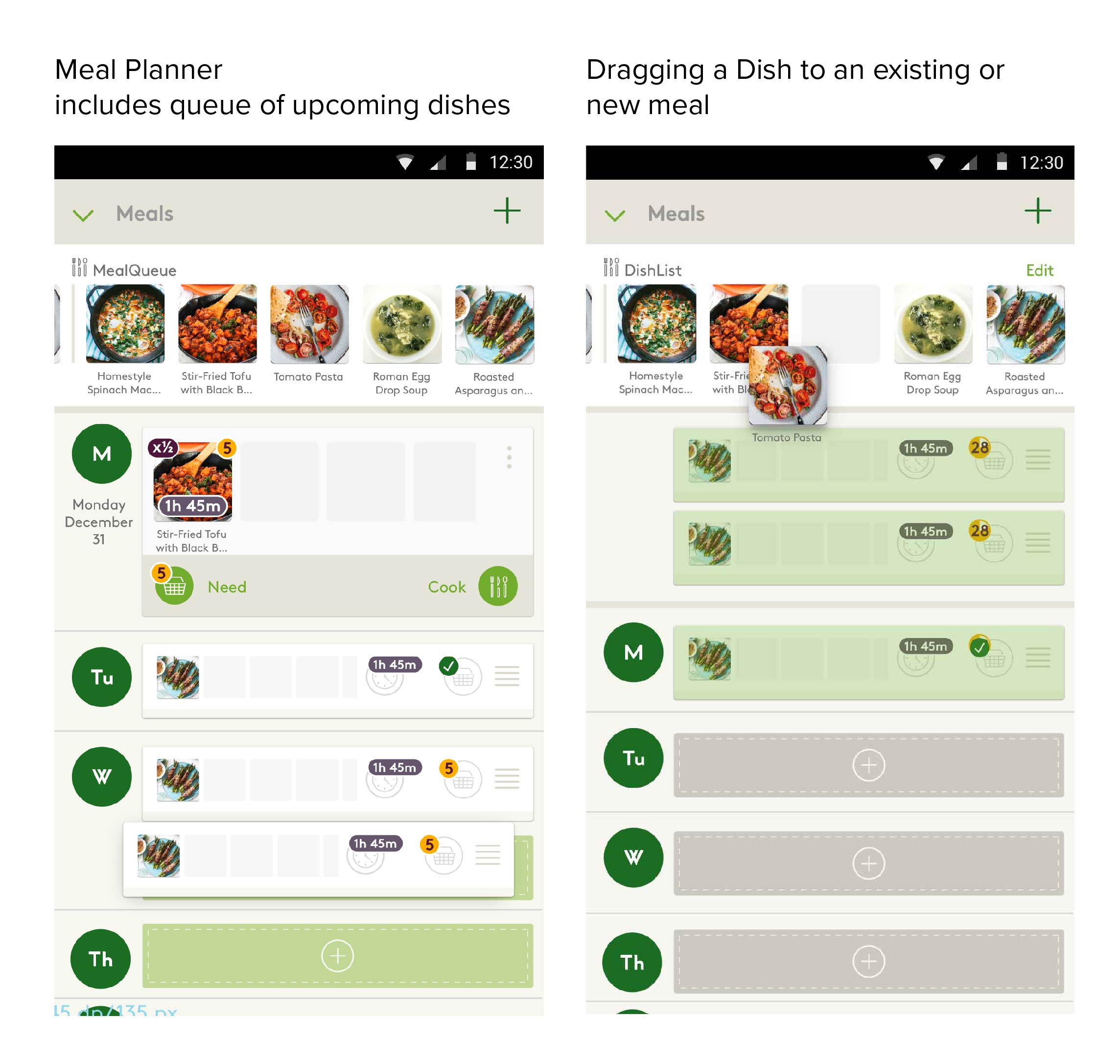 Initial Meal Planner