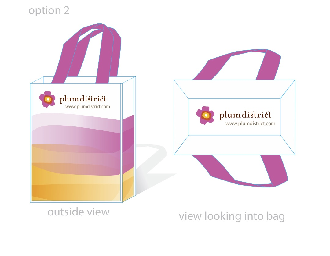 Plum District Bag Variation 2