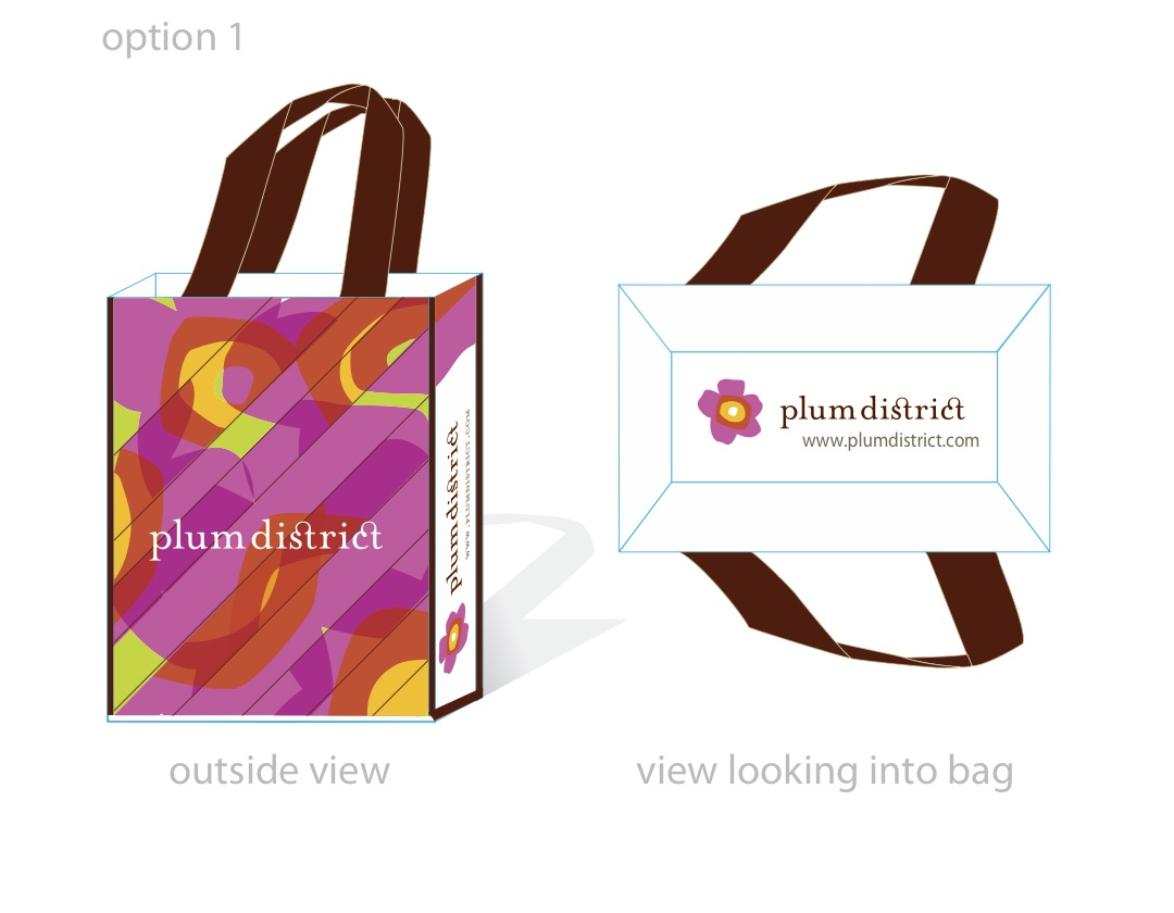 Plum District Bag Variation 1