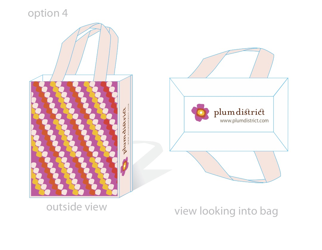 Plum District Bag Variation 3